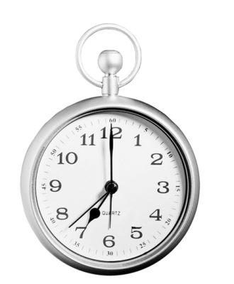钟表可爱简笔画