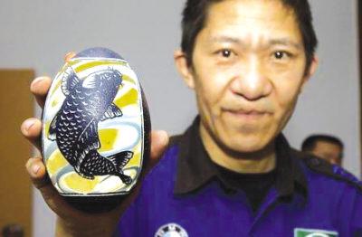 金鱼雕刻步骤图解