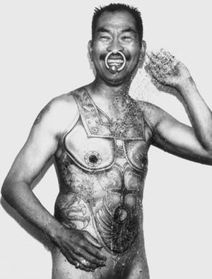 但受到日本武士; 震撼世界的黑镜头之鼻子[组图]; 十大黑镜头