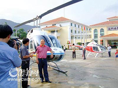 据机主刘先生介绍,这是他的私人飞机,他是东莞一家五星级酒店的老板