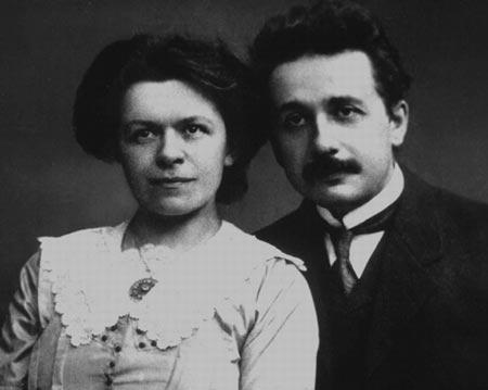 爱因斯坦/爱因斯坦与他的第一任妻子(图2)