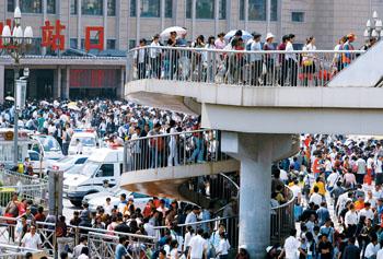 北京至郑州一票难求,而北京站开往牡丹江,图们,佳木斯,加格达奇