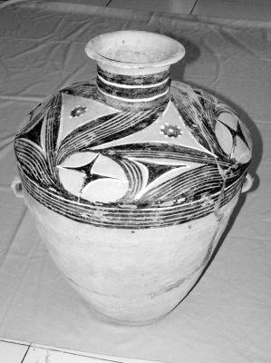 马家窑彩陶纹样; 原始陶器;