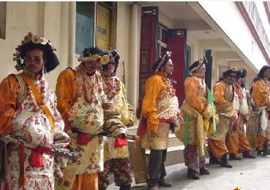 天祝藏族婚嫁习俗图片