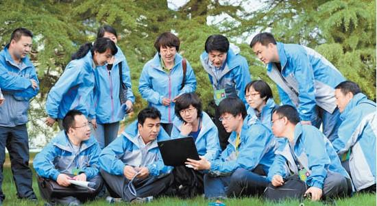 甘肃日报组织了精干的报道小组报道好省第十二次党代会(图)
