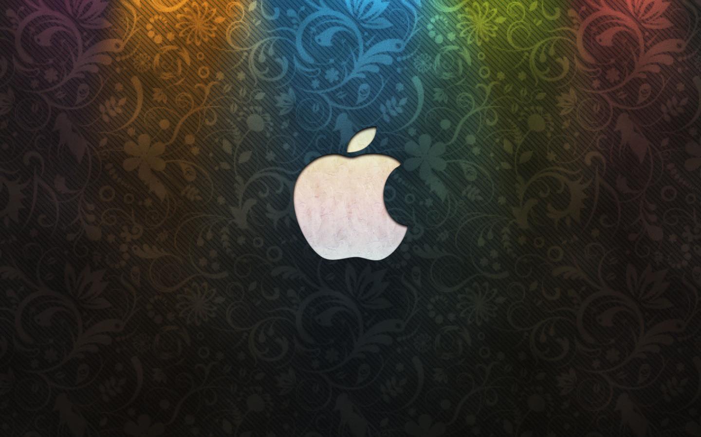 苹果标志桌面 壁纸 中国甘肃网