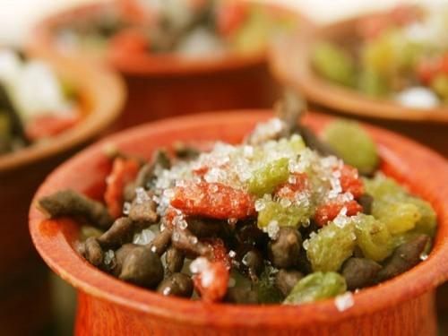 张掖特产—蕨麻米饭