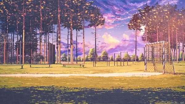 日系动漫和插画里的场景