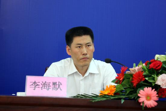 甘肃省政府新闻办副主任 李海默