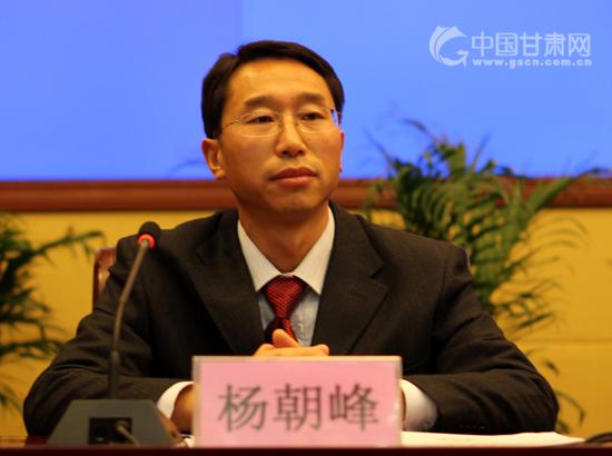 甘肃省委创先争优活动领导小组综合组组长杨朝峰