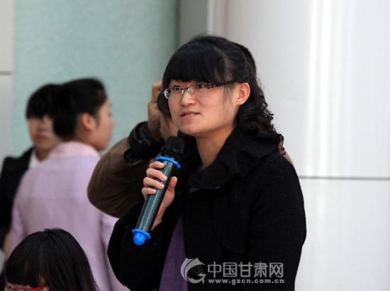 《大公报》甘肃站记者提问