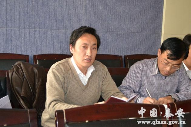 天水秦安县政协委员谈大地湾史前遗址公园建设 图