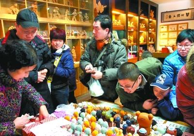 兰州非物质文化遗产陈列馆受市民欢迎