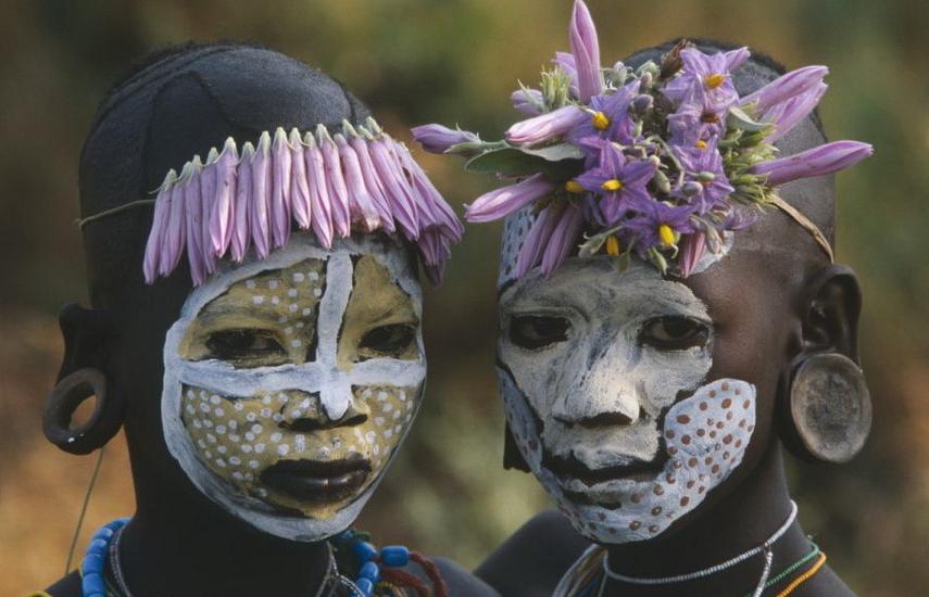 非洲原始部落