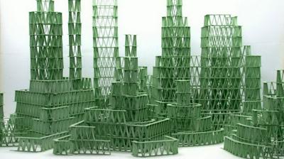 口香糖建成建筑