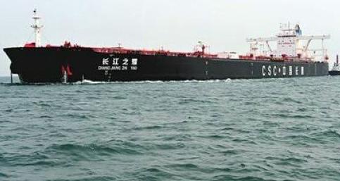 """比首艘航母还长26米 中国""""超级舰""""曝光"""