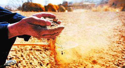 摄影报道:干渴的乡村/组图