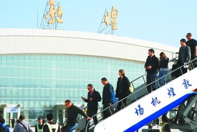 航空:成都-兰州-敦煌