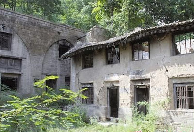 古风民居场景素材