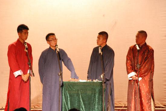西北师大第十一届戏剧文化节开幕