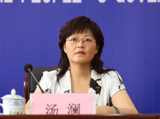 省政府金融办副主任  汤澜