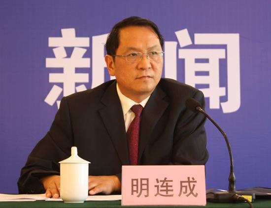 省人大常委会副秘书长 明连成
