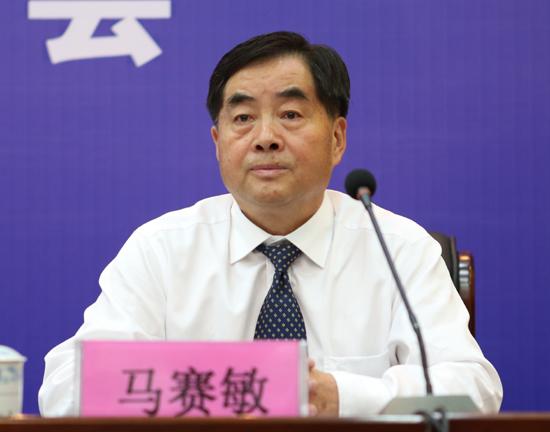 省体育局副局长 马赛敏