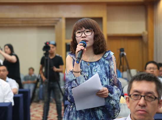 科技日报甘肃站记者提问