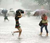 今明两天河东局地有暴雨