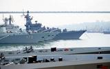 中国战舰群集结
