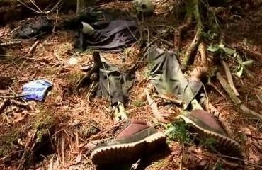 日本自杀森林阴森恐怖