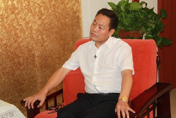 专访甘肃渭河源生物工程有限公司总经理周占琪-渭河源官方网站