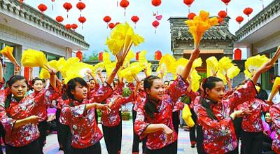 中国(西和)乞巧女儿节活动(组图)
