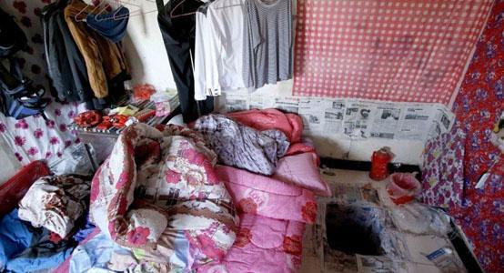 打工仔在出租屋内挖地窖囚禁强奸少女(组图)