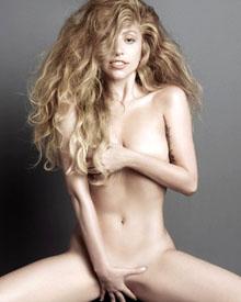 Lady Gaga裸身