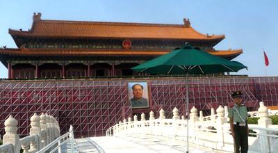 北京天安门城楼新一期修缮工程全面展开