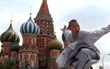 俄罗斯国际军乐节彩排 少林功夫惊艳红场
