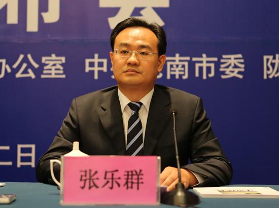 陇南市成县县委副书记 张乐群