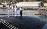 中海军参观核潜