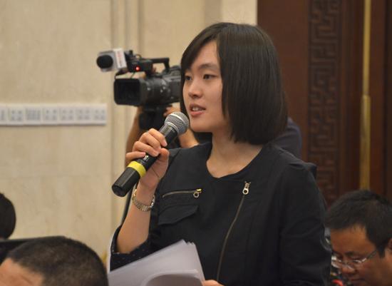 中央人民广播电台甘肃站记者提问