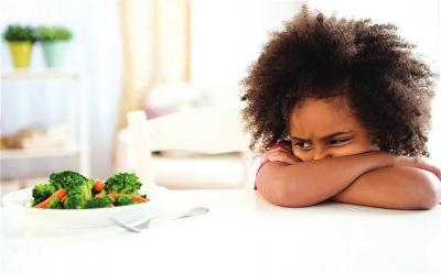 小孩不爱吃青菜或为远古人类生活经验遗传
