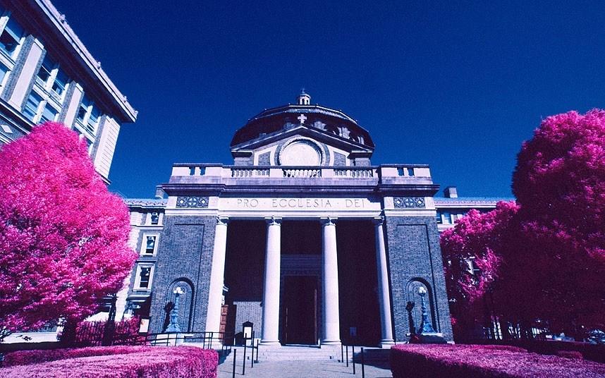 纽约的哥伦比亚大学.高清图片