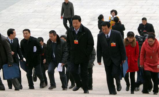 政协甘肃省十一届二次会议委员风采/组图
