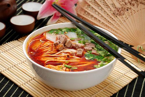 食物养生:10大中国名面的健康密码