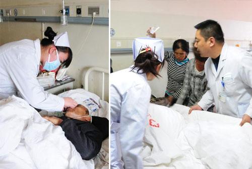 甘肃大客车侧翻事故伤员救治工作紧张进行