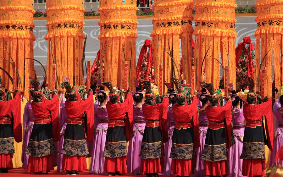 甲午年公祭轩辕黄帝典礼隆重举行(组图)