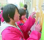 陇南礼县盐官学区组织中小学校师生参加爱国卫生活动