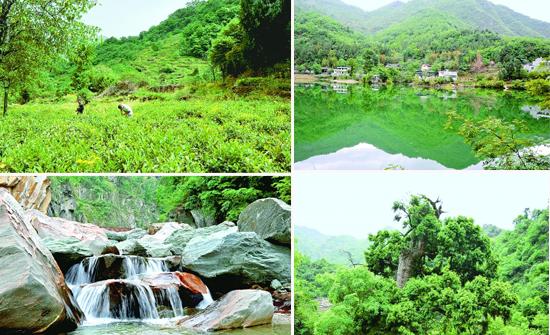 陇南文县团鱼河:远山的一道靓丽风景(组图)
