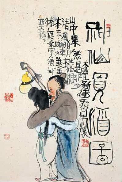 朱新建工笔画-秦淮河边的朱新建 他让所有人觉得自己在装