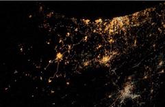德宇航员拍最悲伤太空照 可见加以战火